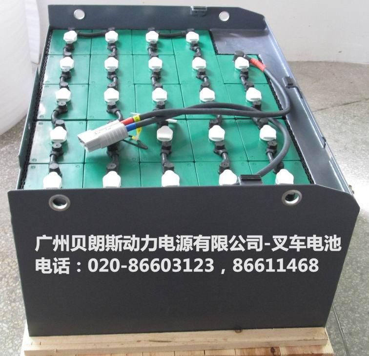 林德牵引叉车电池一般由2v电压的单格电池串联而成24v/36v/48v/72v/80